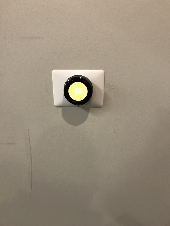 Installed 3 nest thermostats at a new gym facility Jim Karas. in E Deerpath Rd, Lake Forest, IL, USA.